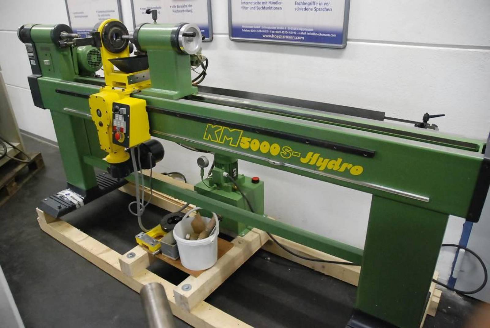 Automatic Wood Turning Lathe Killinger Km 5000 S Hydro Buy Second Hand