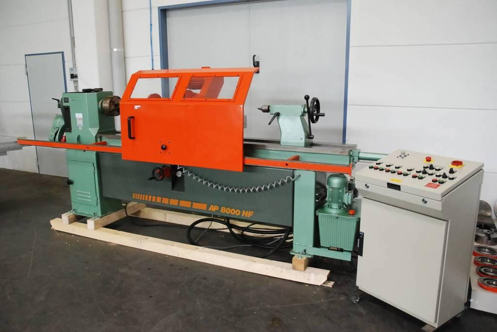 Automatic Wood Turning Lathe Hapfo Ap 8000 Hf Buy Second Hand