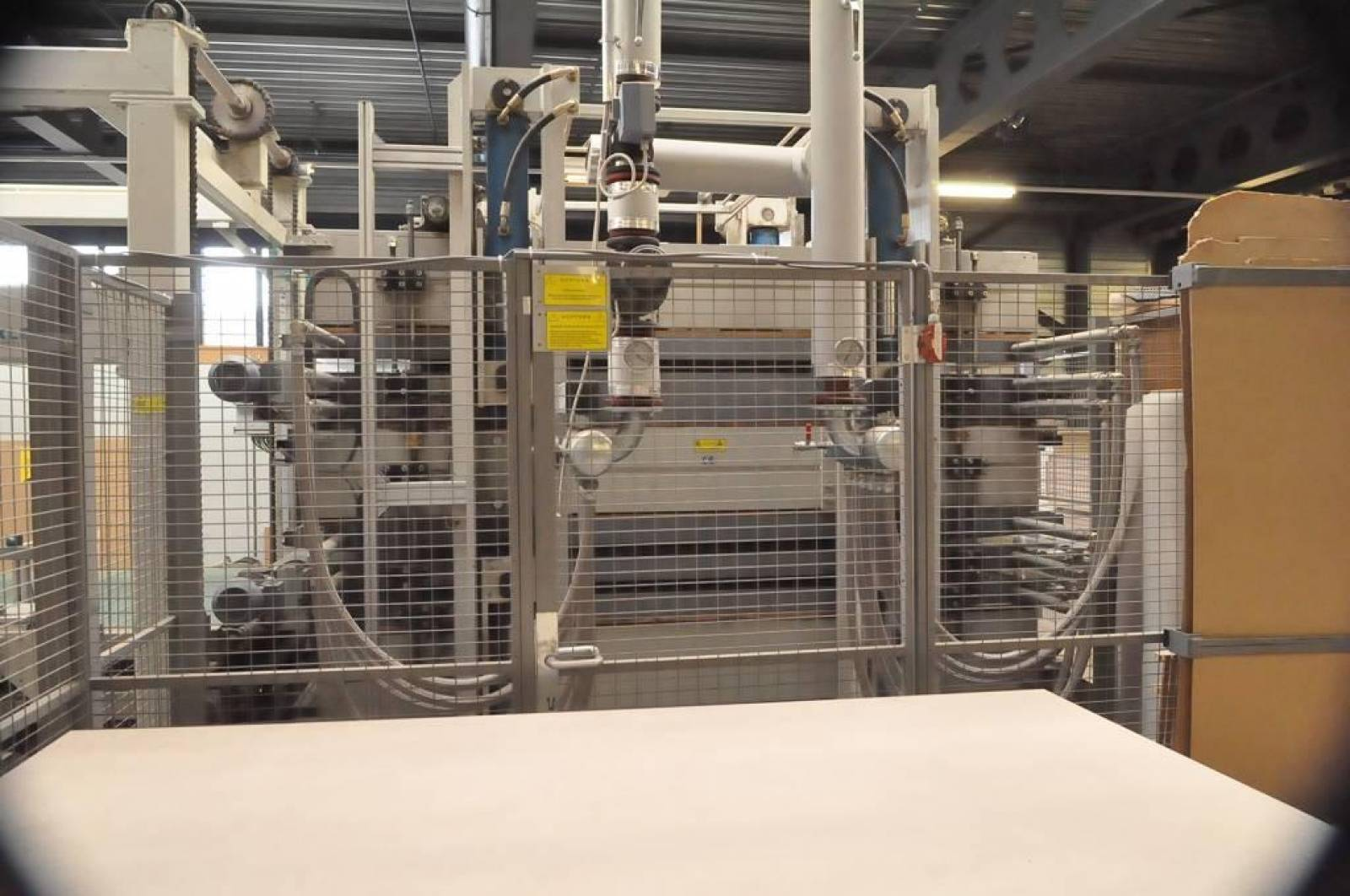 Durchlauf-Furnierpresse BÜRKLE OPTIMA 2x2 gebraucht kaufen