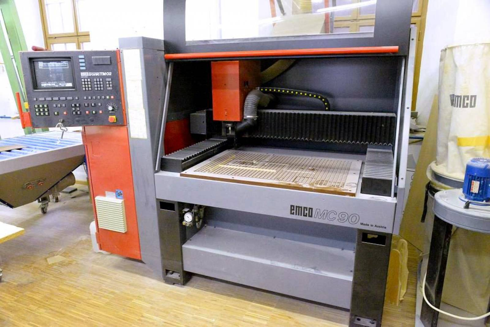 CNC machining centre EMCO MC 90 buy second-hand