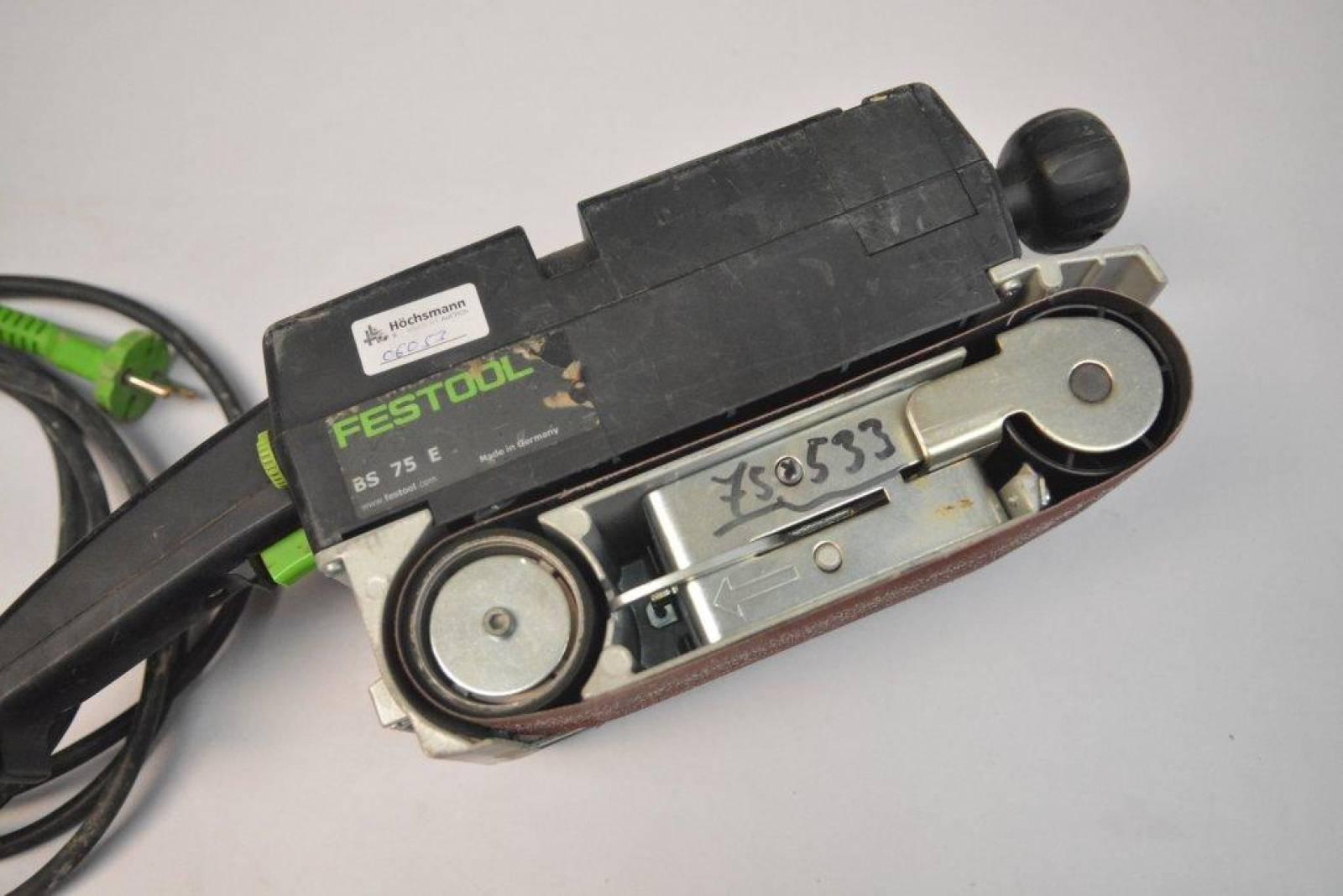 power tool festool bs 75 e buy second-hand