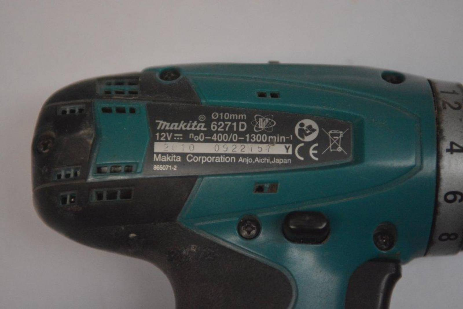 Makita 6271D: device, description, photo 15