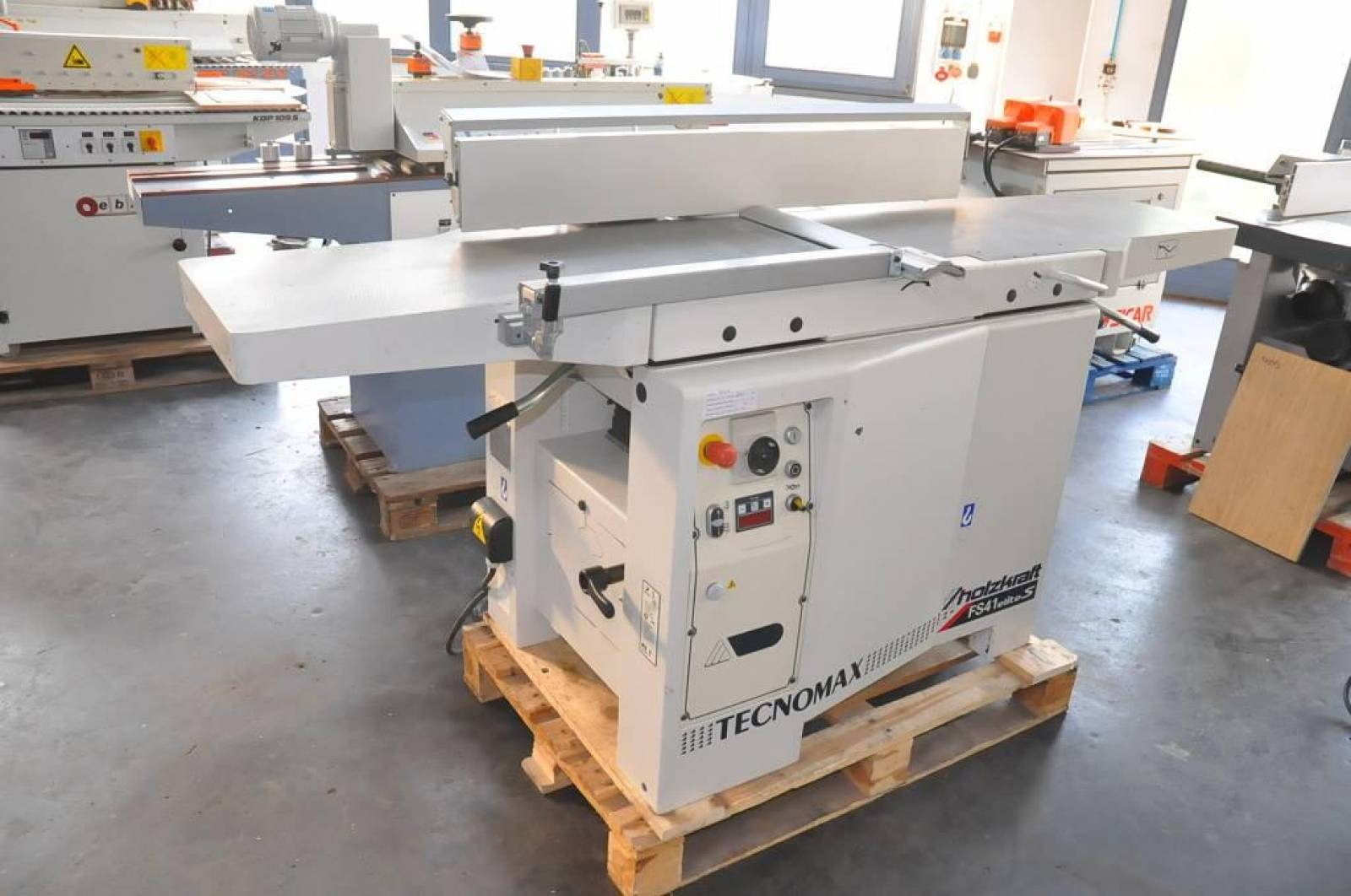 41 Elite combined surface/ thickness planing machine tecnomax fs 41