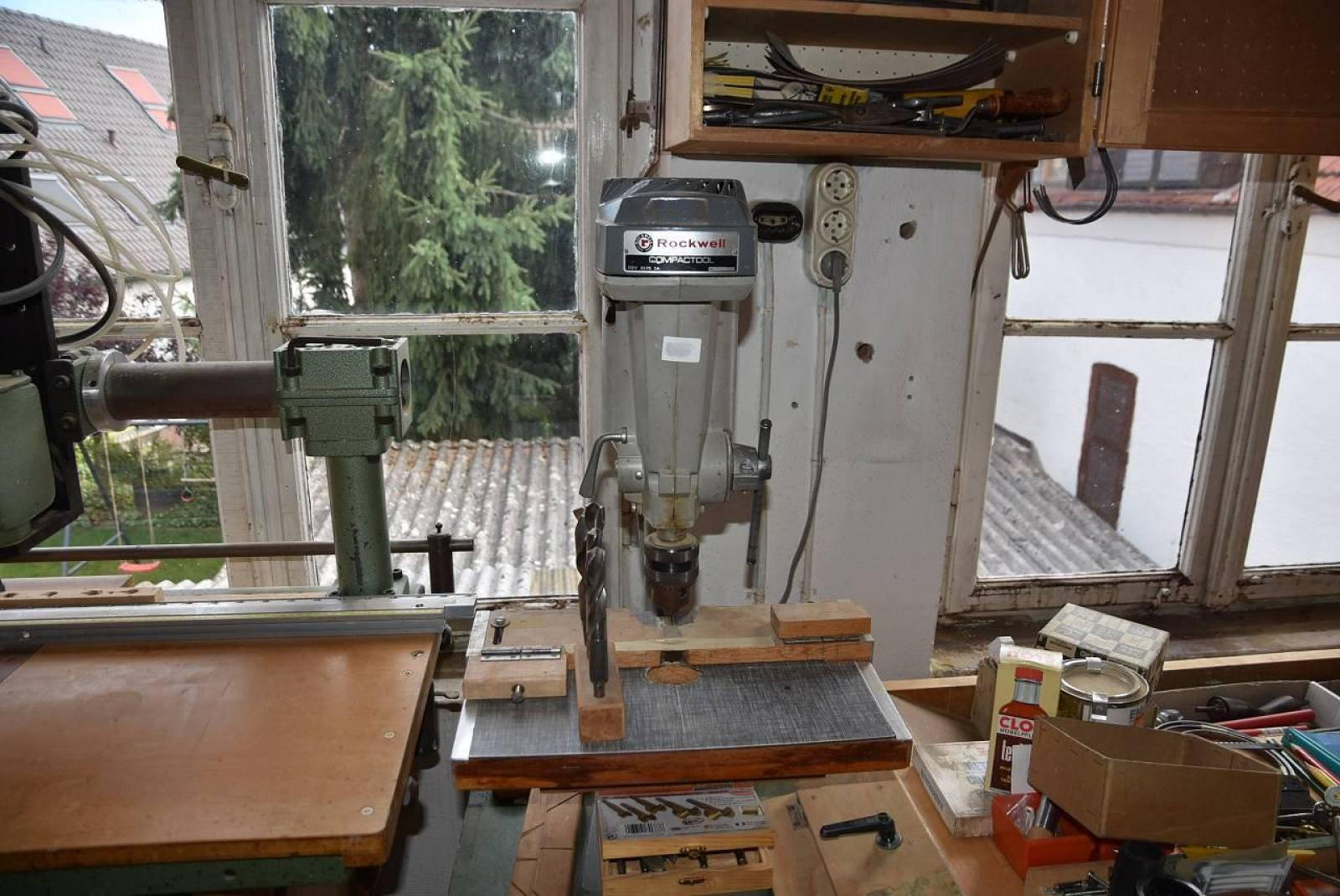 Pillar drilling machine ROCKWELL COMPACTOOL buy second-hand