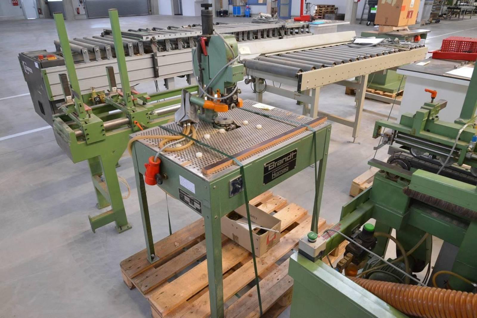 Edge milling machine BRANDT F 10