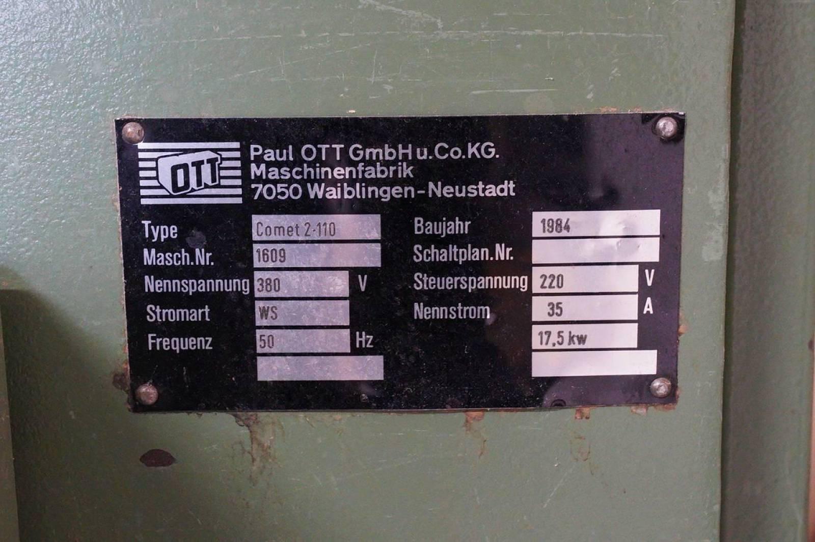 Auktion » OTT COMET 2 -110
