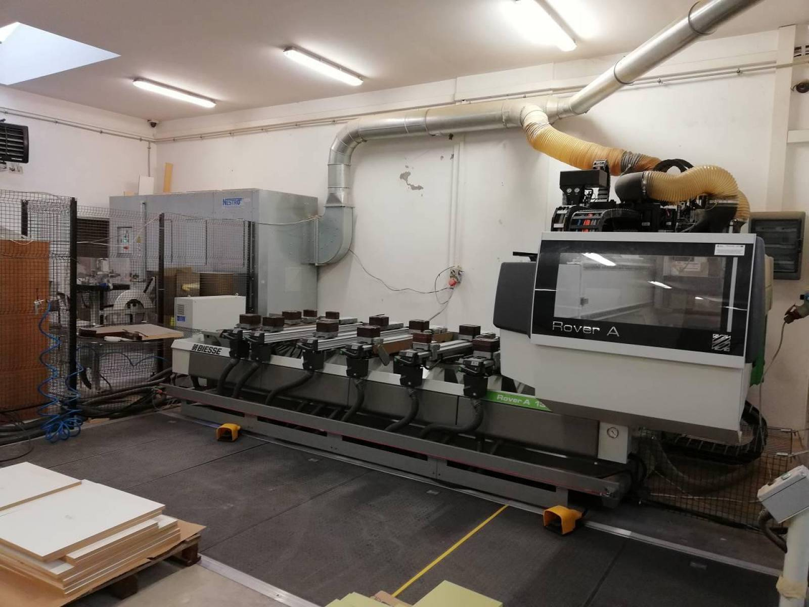 CNC machining centre BIESSE ROVER A EDGE 1332 buy second-hand
