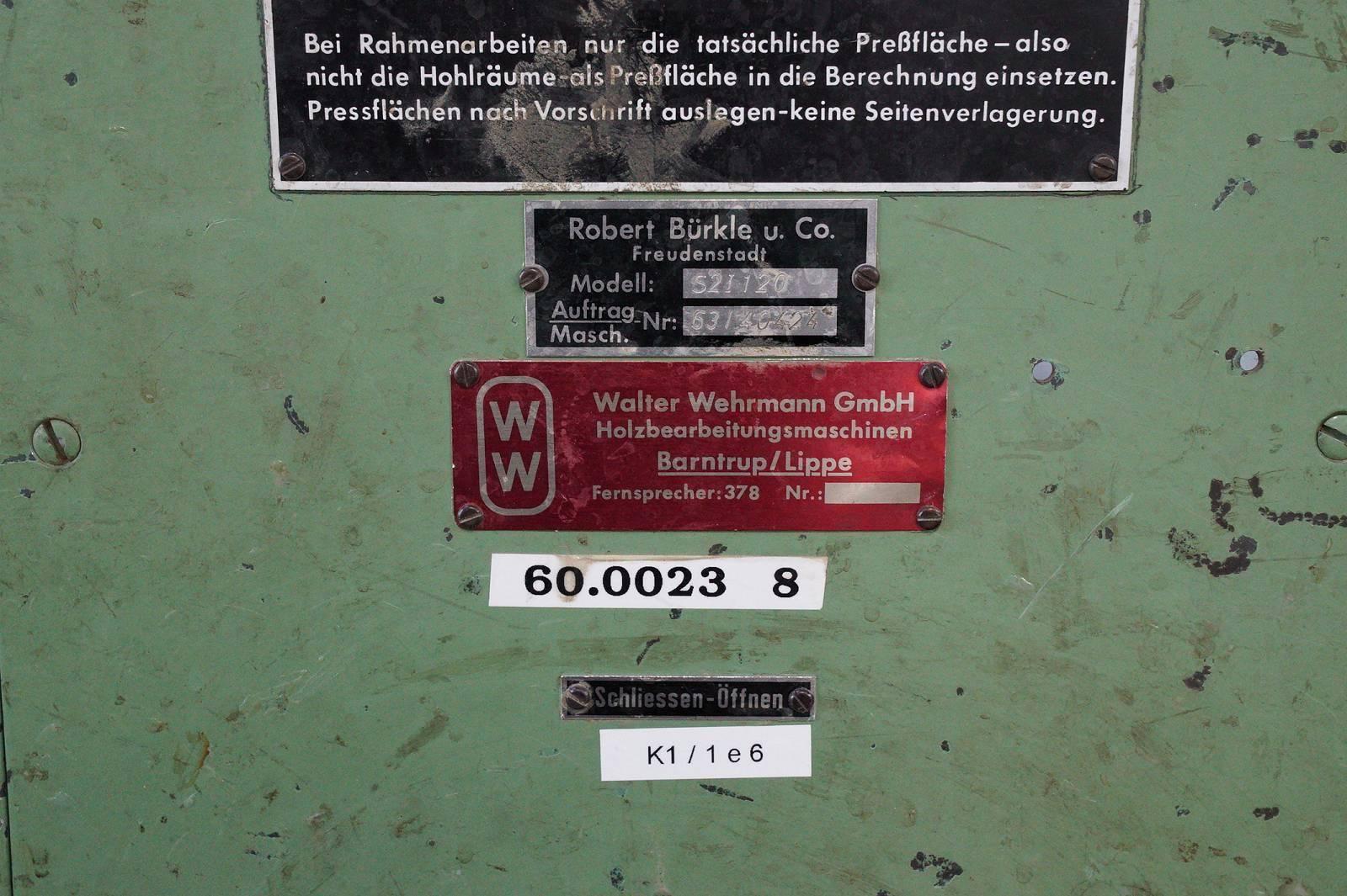 Auktion » BÜRKLE S 2 I 120