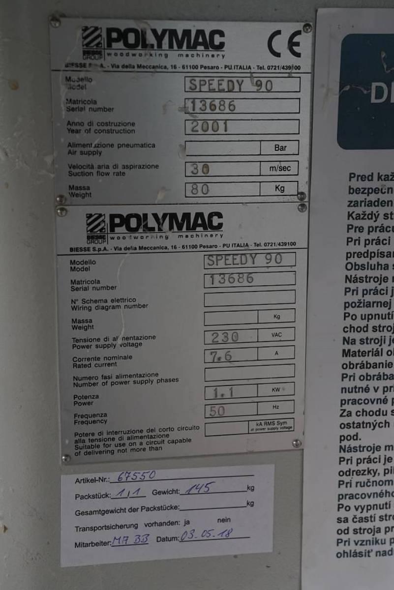 Schema Elettrico Za : Edge milling machine polymac speedy 90 buy second hand