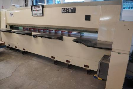 CASATI MACCHINE Combined length- and crosscut veneer guillotine   TSO + TSI [1]