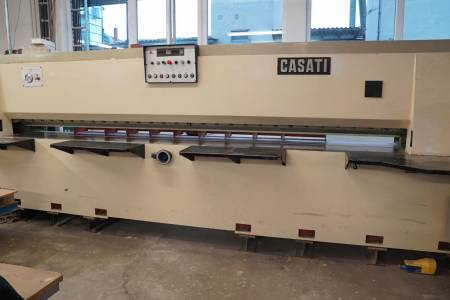 CASATI MACCHINE Combined length- and crosscut veneer guillotine   TSO + TSI [2]