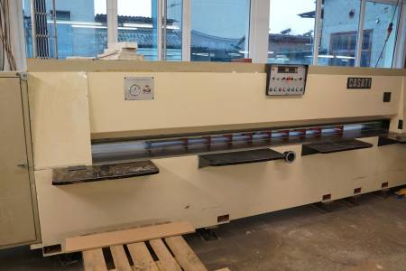 CASATI MACCHINE Combined length- and crosscut veneer guillotine   TSO + TSI [3]