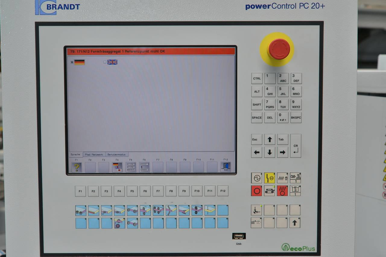 BRANDT POWER CONTROL PC 20+ - WOOD TEC PEDIA