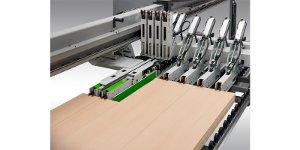 Trend: Plattenaufteilanlagen mit unabhängigen Materialschiebern