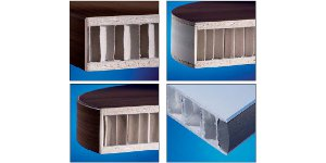 Verfahren zur Beschichtung von Leichtbauplatten im Durchlauf