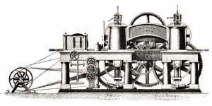 Erste Hobel- und Kehlmaschine