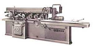 Kehlmaschine mit durchgehendem Vorschub